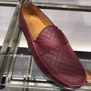 b55efeeac0c New Dark Red Gucci Kanye Loafer Size 8